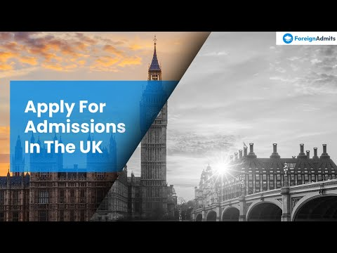 Admission process and job opportunities in UK