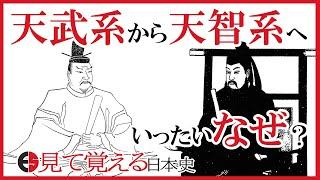 【奈良時代】天智系から天武系へ!奈良時代最後の天皇<光仁天皇>【見て覚える日本史シリーズ】