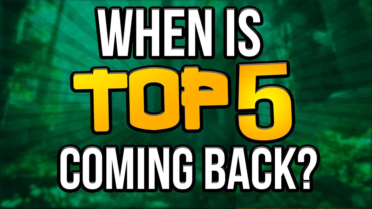 Quitting YouTube - Is Top 5 Ninja Defuses Coming Back?