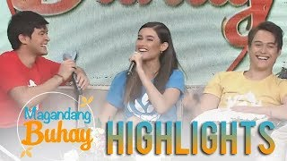 Magandang Buhay: Matteo reveals something about Liza and Enr...