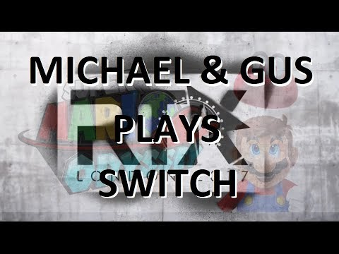 RTX London - Michael and Gus Play Nintendo