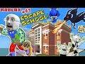ESCAPE SCHOOL with DRAGON & Get Rich 💲 Roblox #41 💰 FGTEEV
