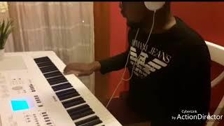 Davido- Fall.Piano cover free style with yamaha Dgx  by Lekan Ifarajimi.