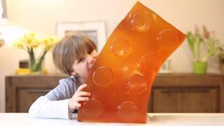 Huge Gummy Lego Block - WORLD's LARGEST GUMMY DIY