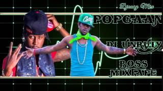 Popcaan  Di Unruly Boss ..Best of Popcaan {Exclusive MixDown Journey}   mix by djeasy