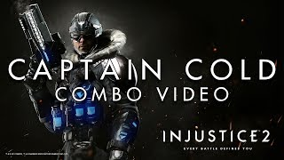 Injustice 2 - Captain Cold - Combo Video
