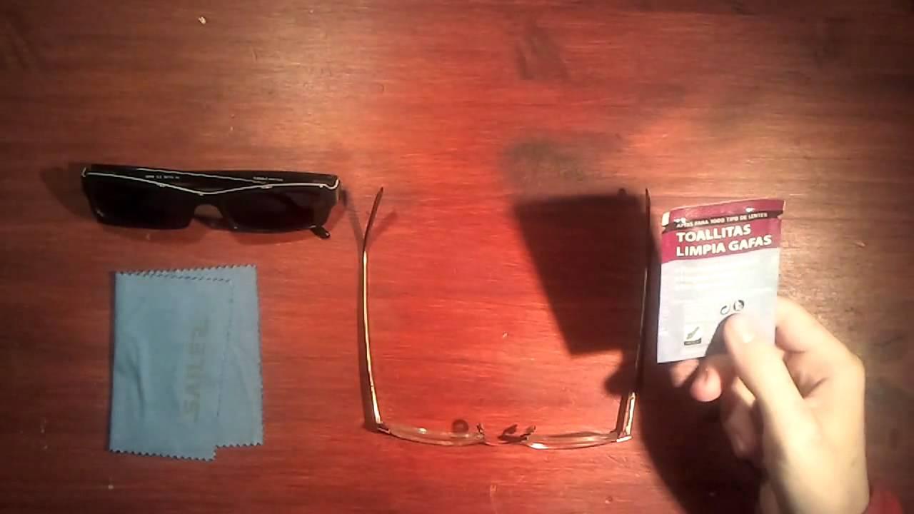 Limpiar cristales de lentes gafas sin suciedad doovi - Productos para limpiar cristales ...