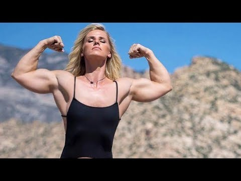 Ashlee Potts | Fbb Muscles Girl | Female Bodybuilding | Gym Workout