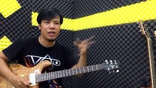 Hướng dẫn câu BALLAD cực kỳ dễ thương âm giai C trưởng | học đàn guitar điện online miễn phí