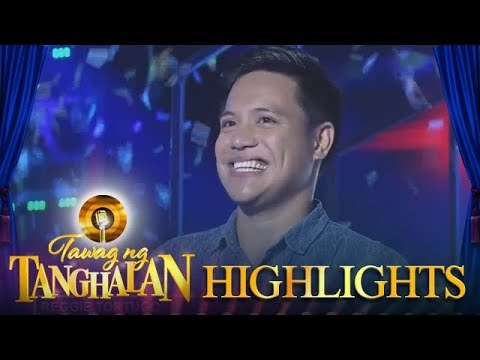 Tawag ng Tanghalan: Reggie is the new defending champion
