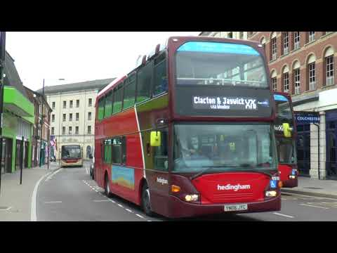 COLCHESTER BUS STATION AUG 2017