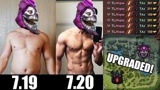 Dazzle 7.20 Dota 2 Insane Buff - New Strongest Carry was Born | Dota 2 gameplay