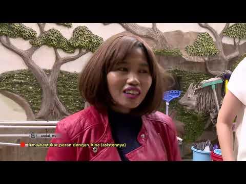 ANDAI - Irma Dharmawangsa Ga Biasa Kerjain Kerjaan Rumah (18/11/18) Part 1