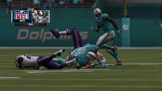Madden 19 Dolphins Franchise Week 13 (Vs BUF)