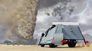 GTA 5 - PLAYING as a TORNADO CHASER!