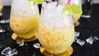 Banana Daiquiri Cocktail Recipe - Refreshing Party Cocktails with Rum at Home