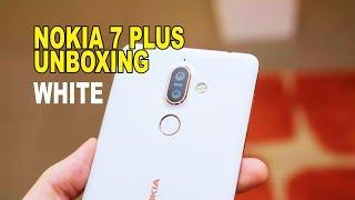 Nokia 7 Plus White Unboxing | TECH SCOOP | NOKIA