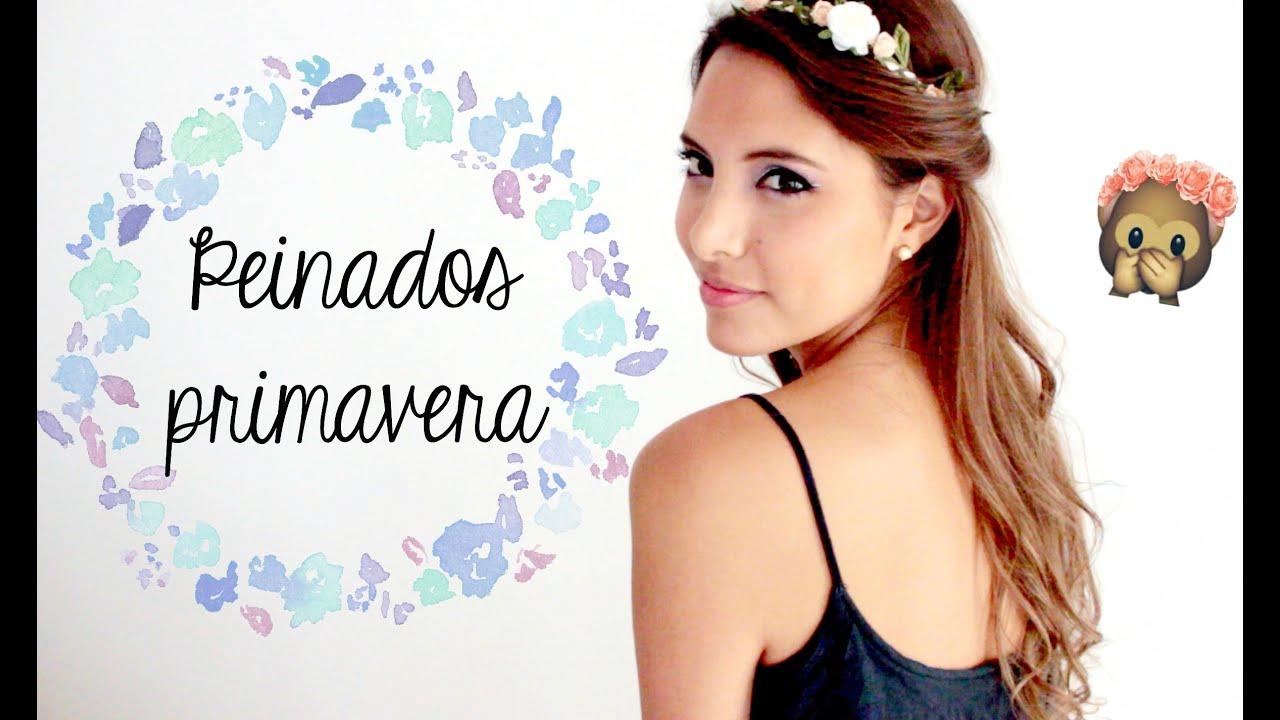 Peinados para Primavera | Valeria Basurco