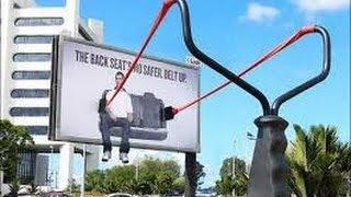 Наружная реклама- интересные идеи для креативной наружной рекламы(прикольная, креативная, необычная и тупая реклама., 2015-09-18T16:42:25.000Z)