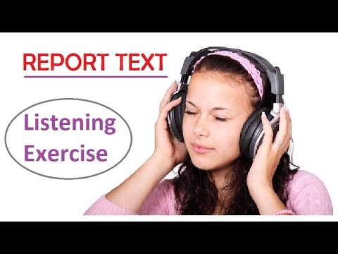 Report Text for Listening Exercise about Animal