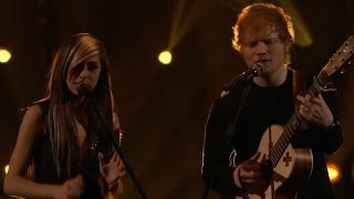 "Ed Sheeran & Christina Grimmie ""All of the Stars"" Performance on The Voice Finale"