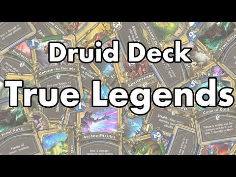Hearthstone - MaSsan's Druid Deck True Legends