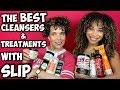 The BEST Cleansers & Deep Conditioners With SLIP | LOTS OF OPTIONS & CHAT