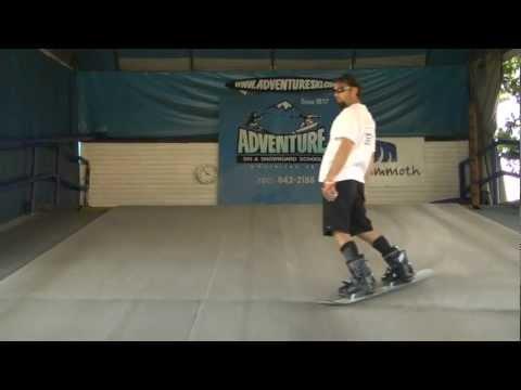 Snowboard Lessons: Beginner to advanced skills progression at Adventure Ski & Snowboard School