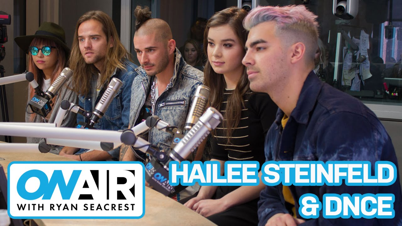 """Download Hailee Steinfled & DNCE Talk """"Rock Bottom"""" Collaboration   On Air with Ryan Seacrest"""