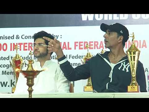 Kudo World CUP fLAG OFF CEREMONY WITH AKSHAY KUMAR