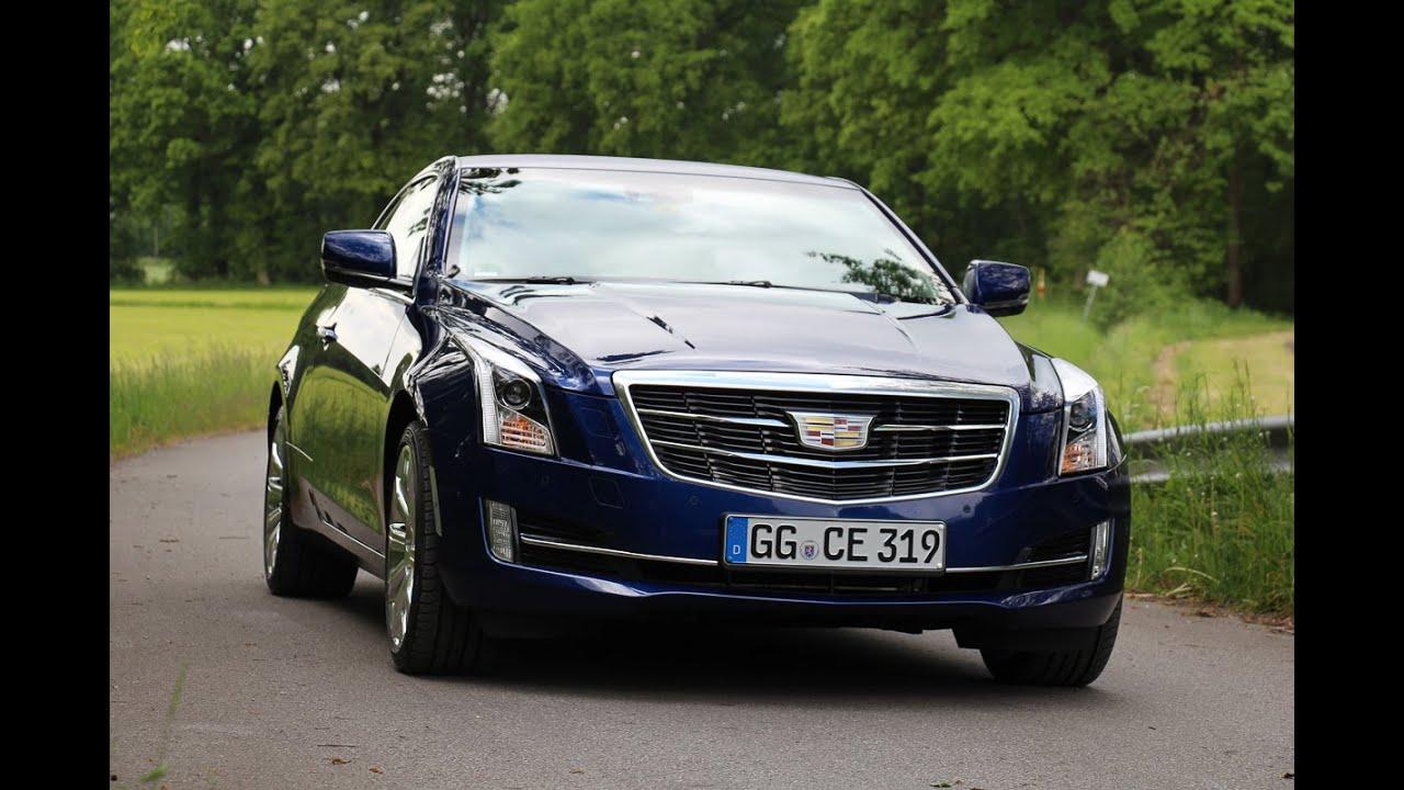 2015 Cadillac ATS Coupe Fahrbericht Test Review 0 100 km/h ...