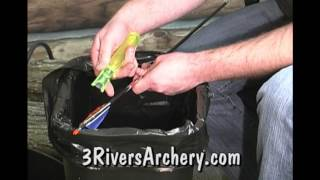 Using the Bohning Archery Strip-Pro Fletching Stripping Tool
