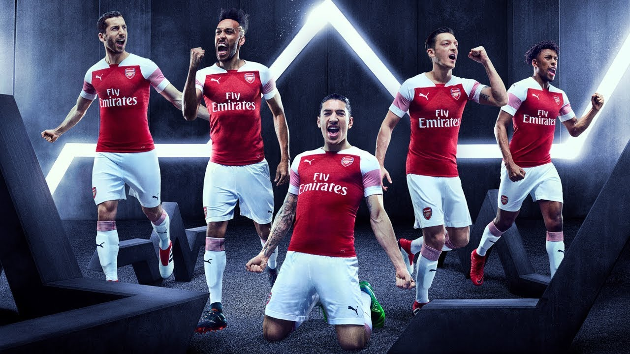 52374dac999 Introducing Arsenal s 2018 19 PUMA home kit - YouTube