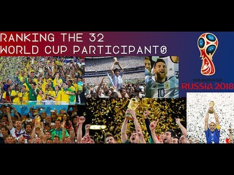 Ranking the 32 World Cup 2018 Paticipants · Who is most likely to win Russia 2018?