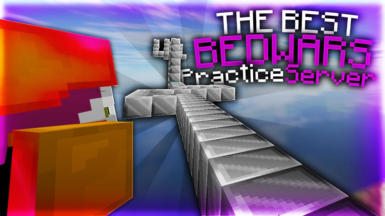 The BEST BEDWARS Practice Server YouTube
