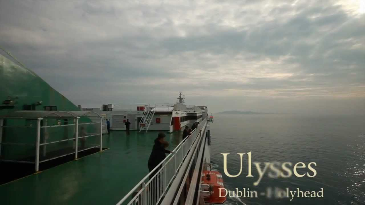 Ferry To Ireland From Holyhead >> Irish Ferries - On-board 'Ulysses' - Holyhead to Dublin - YouTube