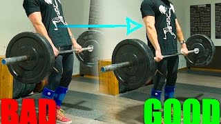 How to Deadlift: The Only PROPER Way To Lockout (Common Mistake)