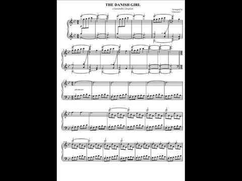 The Danish Girl (piano solo) Alexandre Desplat