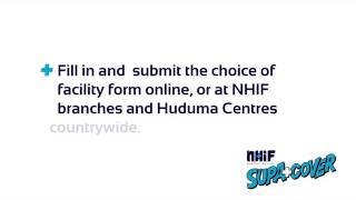 NHIF how to choose an Outpatient facility
