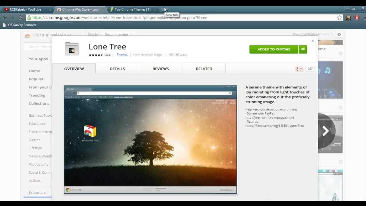 Google chrome themes top 10 - 10 Cool Google Chrome Themes