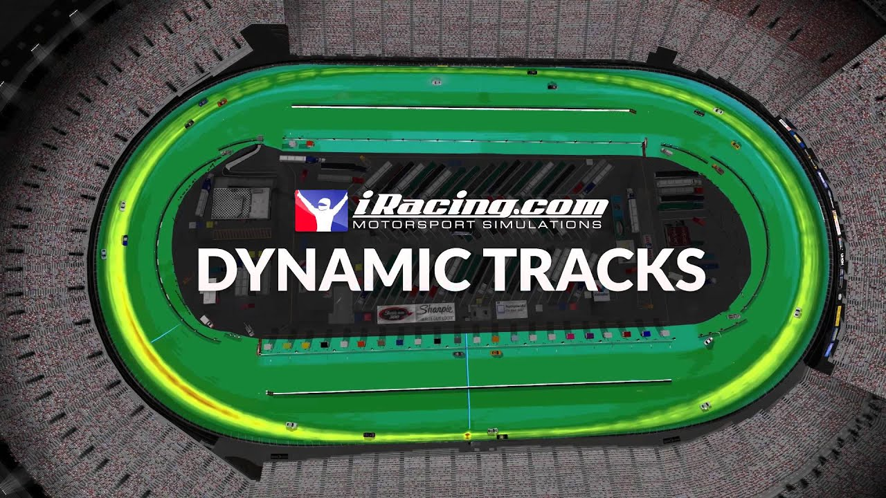 Dynamic Tracks  Now on iRacing