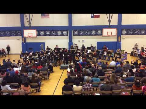 Carol of the Bells by 2017-18 Jefferson MS Honor Band