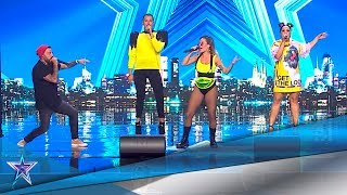 Un grupo de BEATBOX te pondrá a bailar con 'BANG BANG' | Audiciones 10 | Got Talent España 5 (2019)