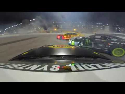 Drifting w/ Vaughn Gittin Jr. & the Fun Havers Before the Pennzoil 400