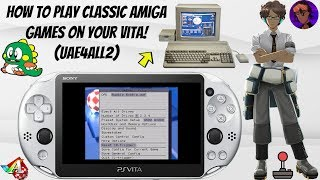 How To Play Classic Amiga Games On Your Vita! (UAE4ALL2) #Amiga #Emulation #PSVita