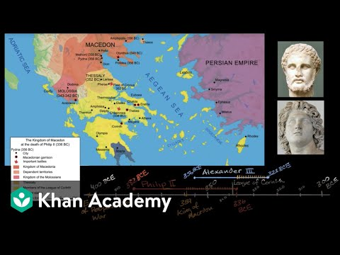 Philip of Macedon unifies Greece | World History | Khan Academy