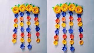 DIY WALL HANGING | HIASAN DINDING DARI KERTAS | WALL DECORATION