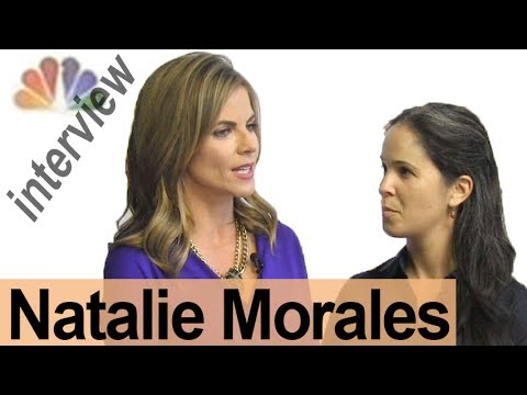 NATALIE MORALES  -- Interview a Broadcaster! -- American English Pronunciation