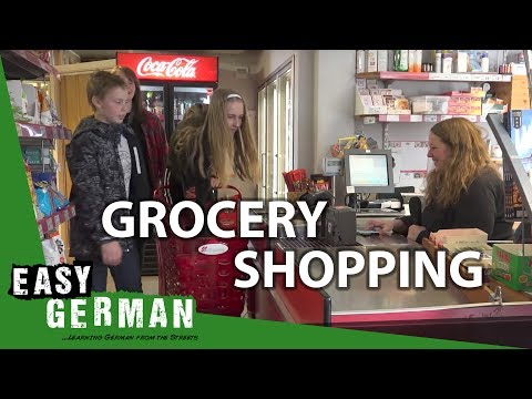 Grocery shopping in German | Super Easy German (33)