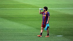 Lionel Messi Skills & Goals in Warm up Before Games